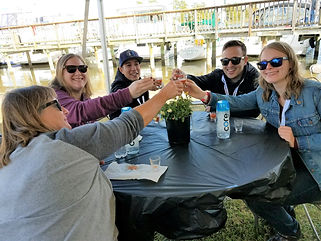 Urbanna VIP experience  crowed with beer