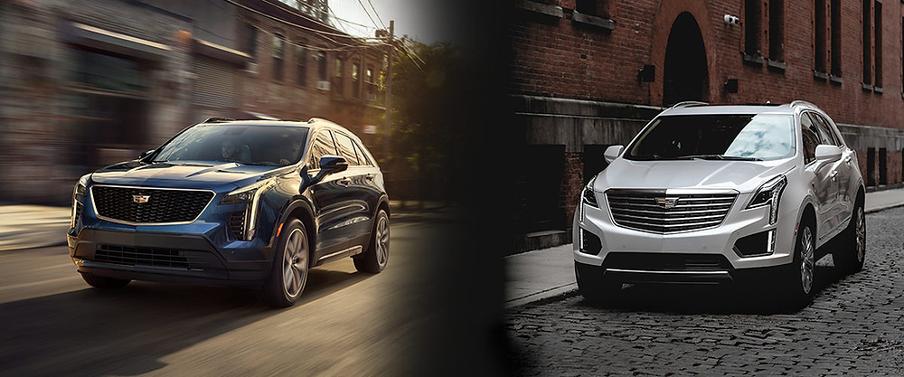 What are the differences between the Cadillac XT4 & Cadillac XT5