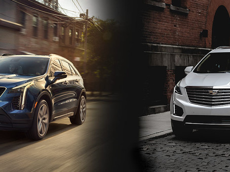 What are the differences between the Cadillac XT5 & Cadillac XT4?