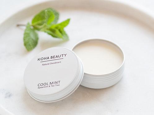 Cool Mint Natural Deodorant Cream