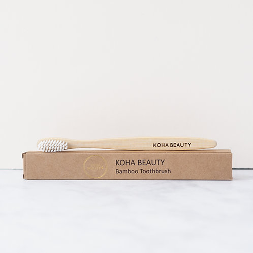 KOHA Beauty Bamboo Toothbrush