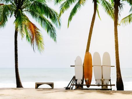Pourquoi cette analogie  au sport et en particulier au surf?