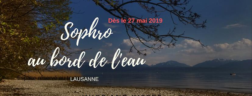 Sophro au bord de l'eau Lausanne