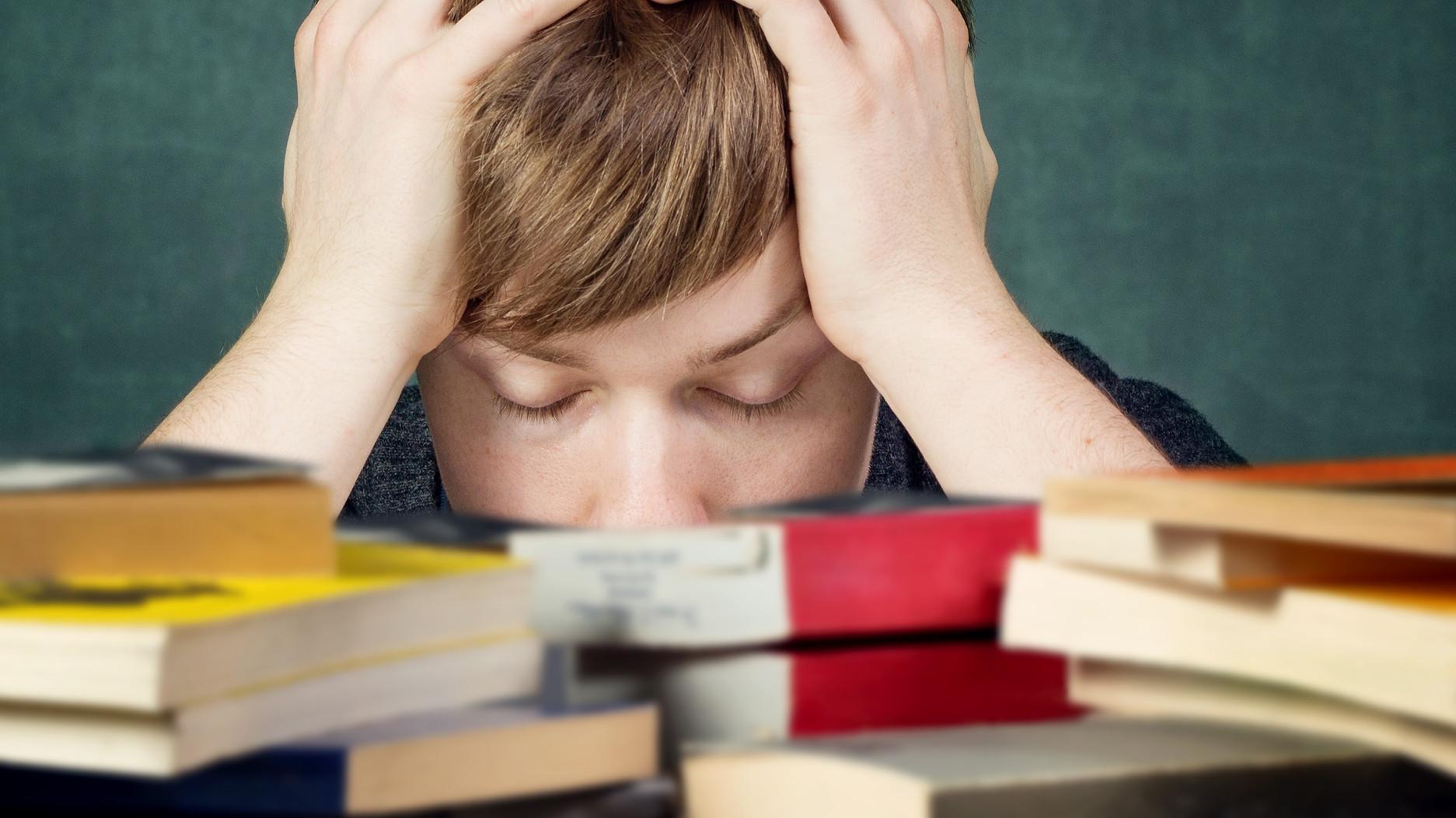 En finir acec le stress des examens