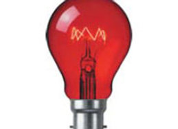 GLS 25w Harlequin Lamp, Red