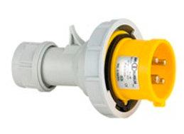 16 Amp 4 pin CEE Plug - Yellow