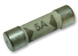 5A (6.3x25mm) F Type Domestic Mains Fuses (10 pack)