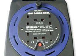 Handbag Reel Four Socket 13A 15Meter - Pro-Elec