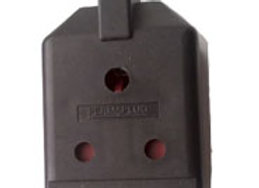 15 amp Single Outlet Trailing Socket - Permaplug