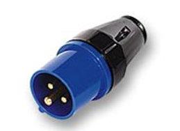 16 amp 3 pin 240V Plug - Black