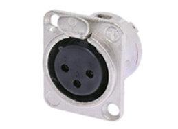 Neutrik NC3FD XLR Female Chassis Connector 3 pin