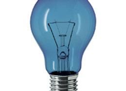 GLS Blue 240v 40w E27 Lamp