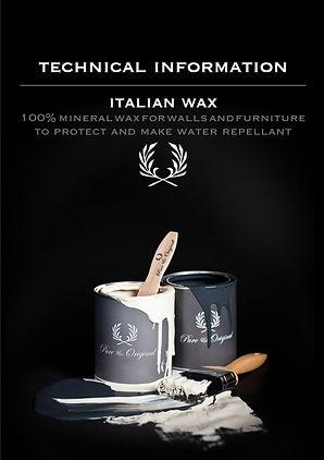 Technical Information Italian Wax