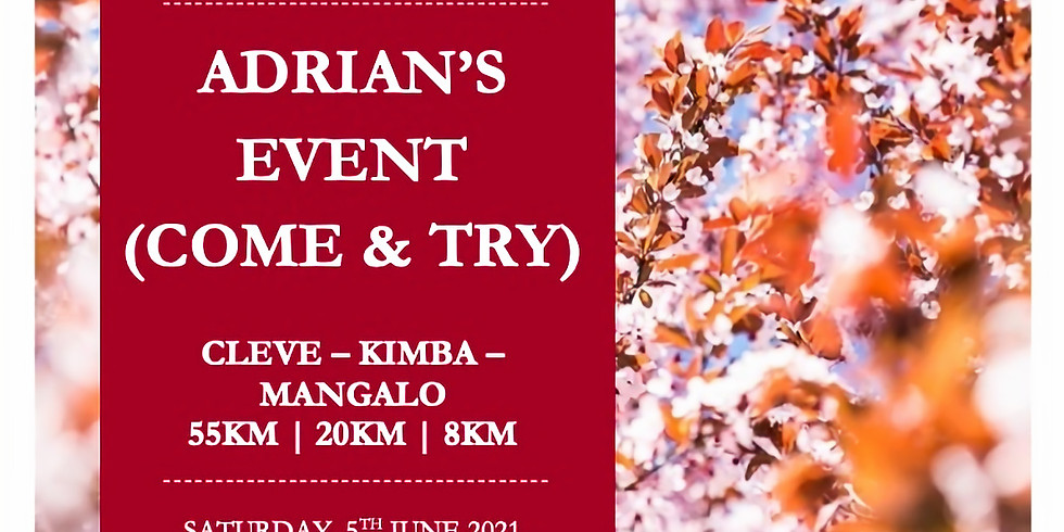 Adrian's Event (Come and Try)