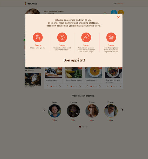 eatAlike - Concept and Design