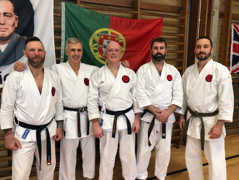 AKA with Sensei Kevin and James from Wokingham