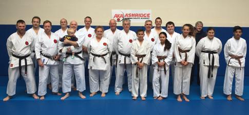 Senior training session at AKA