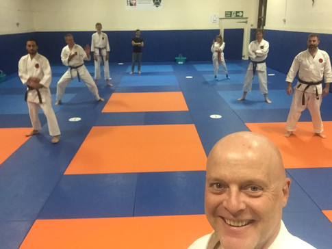 Return to the dojo with social distancing
