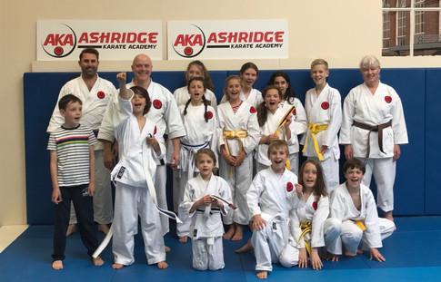 Ashridge Karate Academy June 2017