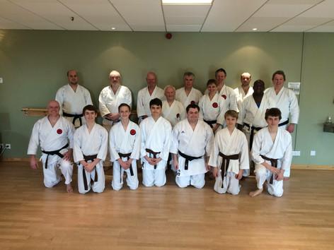 Sensei John at Senior Training in 2018