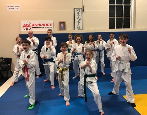 AKA Junior Class Jan 2019
