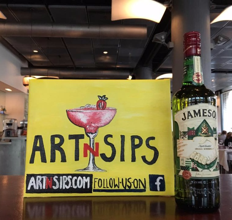 ARTNSIPS and Jameson Irish Whiskey