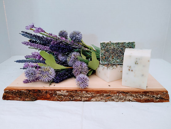 Triple Butter Lavender Soap