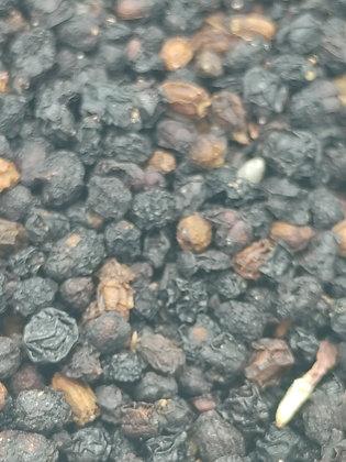Organic Elderberry Whole wildcraft