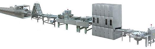 Линия производств вафель