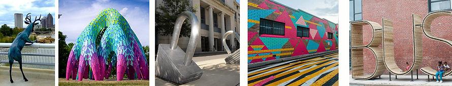 Placemaking Public Art Murals and Sculpture Original Art