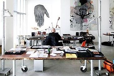 Hard Working Artist Studio