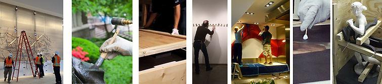Art Exhibit Installation Relocation Delivery Logistics