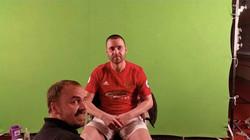 Wayne Rooney Body Double Prosthetic Make-up