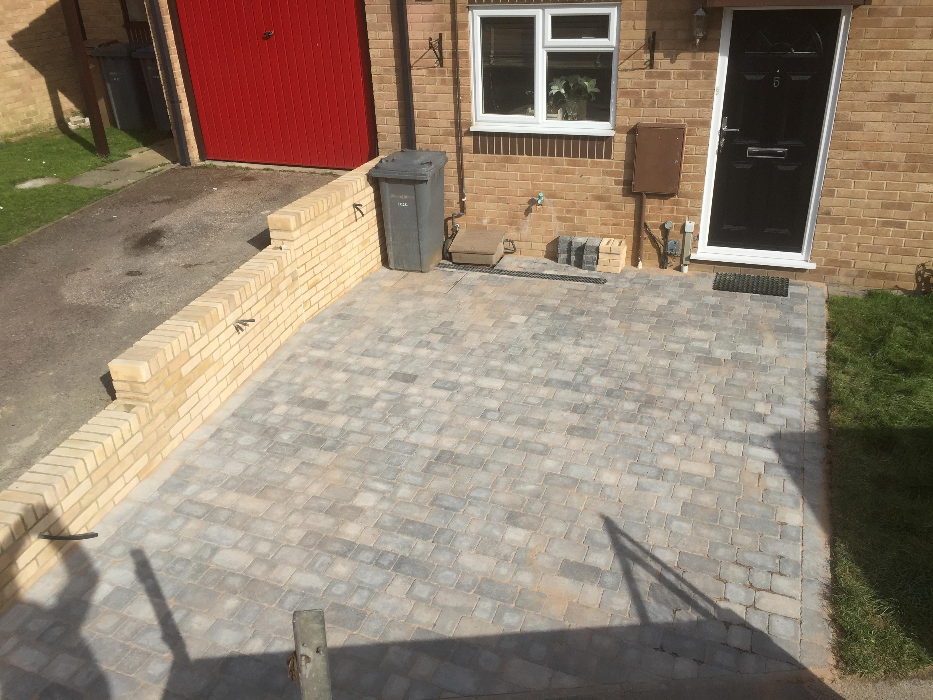 Sapphire Builders - Driveway - Felixstow