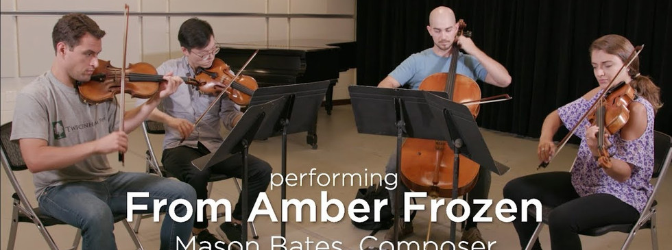From Amber Frozen: The Dover Quartet with Mason Bates