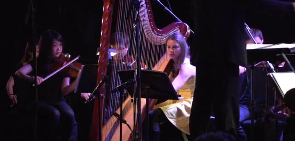 Exploring the Vivian Fung Harp Concerto, with Bridget Kibbey