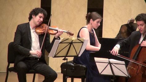 Lysander Trio plays Liszt Hungarian Rhapsody