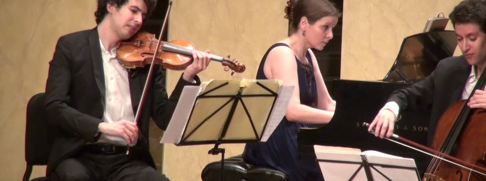 Lysander Trio plays Liszt Hungarian Rhapsody