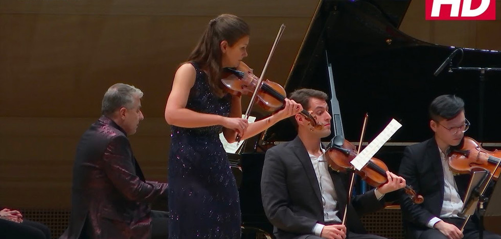 Janine Jansen and Jean-Yves Thibaudet - Chausson: Concert for Violin, Piano, and String Quartet