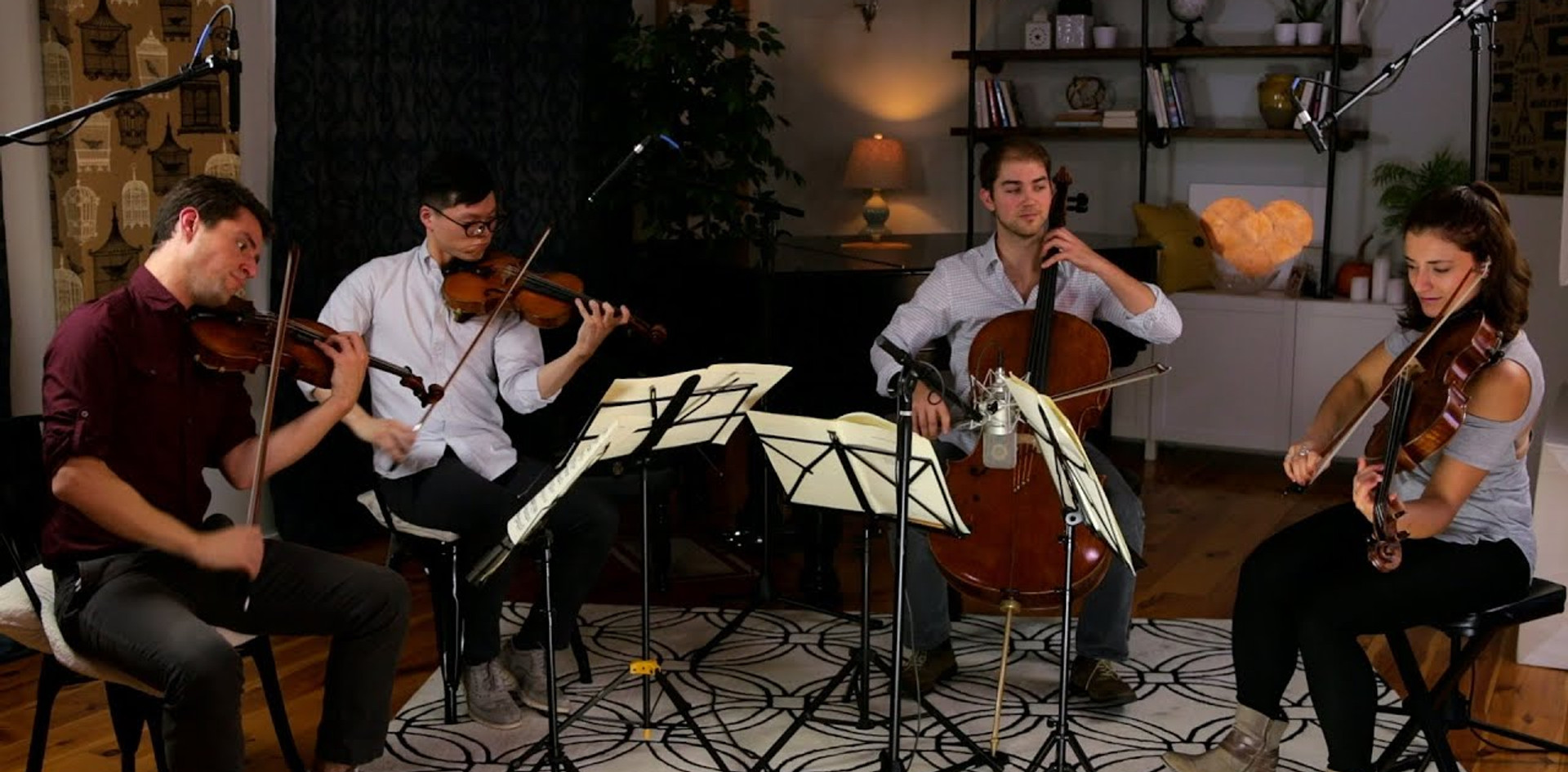 Dvorak - American Quartet, Mvt I - Dover Quartet
