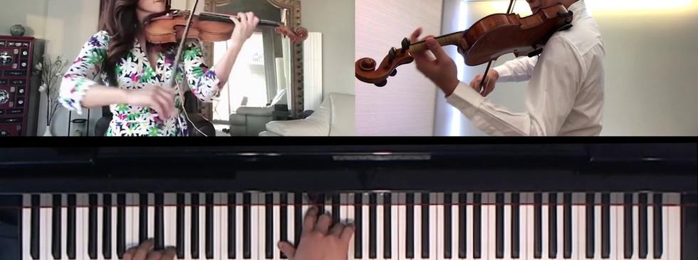 Chee-Yun, Jing Wang & Jonathan Tsay- Elegie: Five Pieces for Two Violins & Piano by Shostakovitch