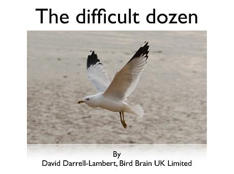the difficult dozen