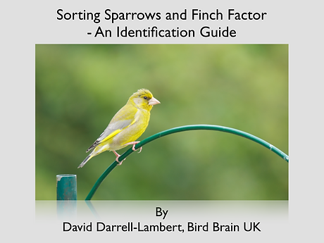 sorting sparrows and finch factor