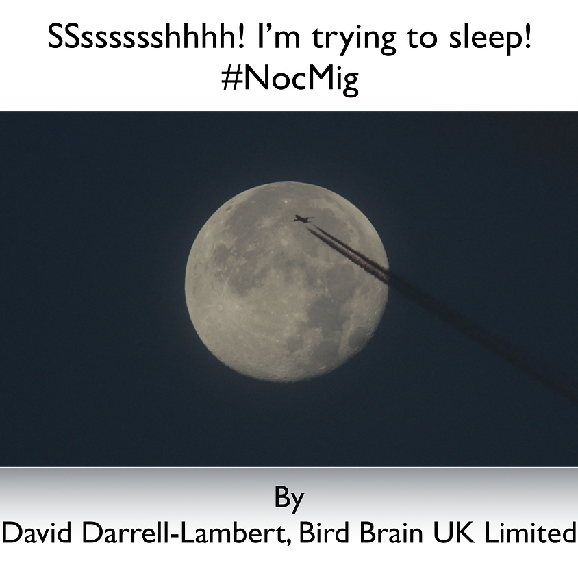 Lecture - Ssssccchhh! I'm trying to sleep! - Essex Birdwatching Society