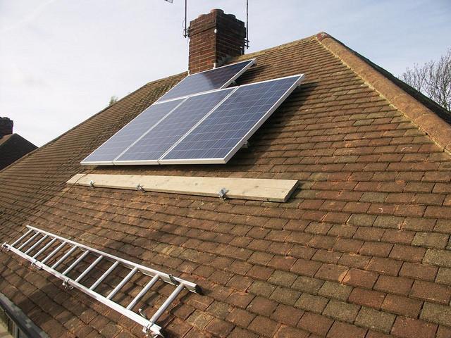 solar panels on Missoula Home