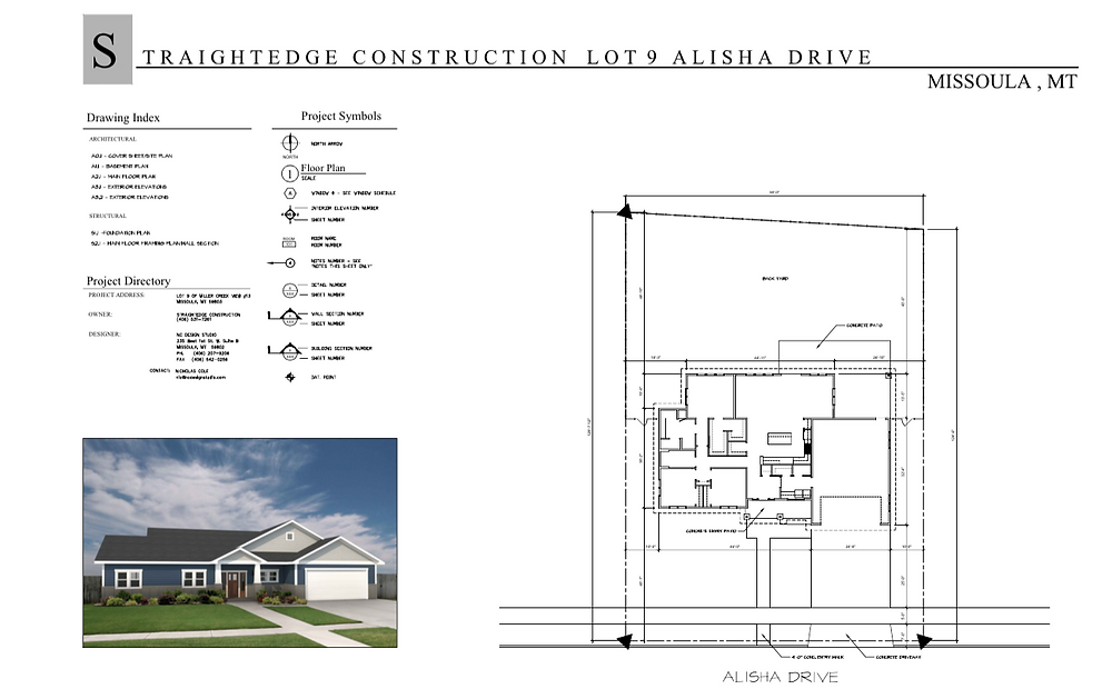 straightedge construction missoula montana new home construction floor plans