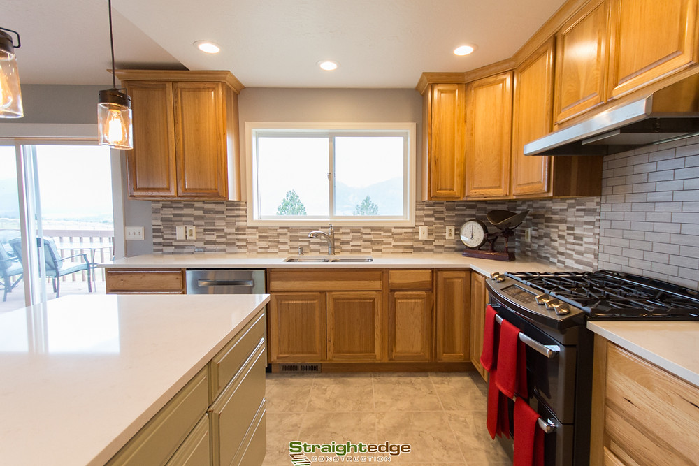 kitchen remodel in a stevensville montana home