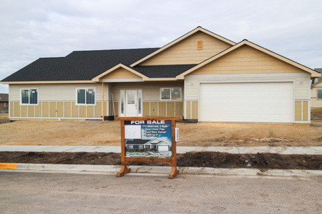 new home being built in Missoula Montana