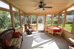 Straightedge-Construction Sun Room