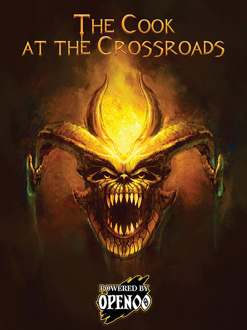 The Cook at the Crossroads - Adventure for Against the Darkmaster [PDF]